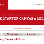 The Startup Canvas a Milano
