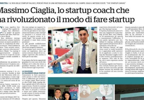 Massimo Ciaglia su La Repubblica