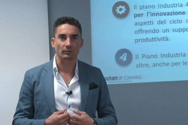 Massimo Ciaglia spiega il piano industria 4.0 che è a supporto delle startup