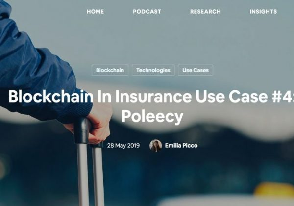 Blockchain In Insurance Use Case #4: Poleecy