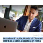 Massimo Ciaglia, Punta di Diamante dell'Ecosistema Digitale in Italia