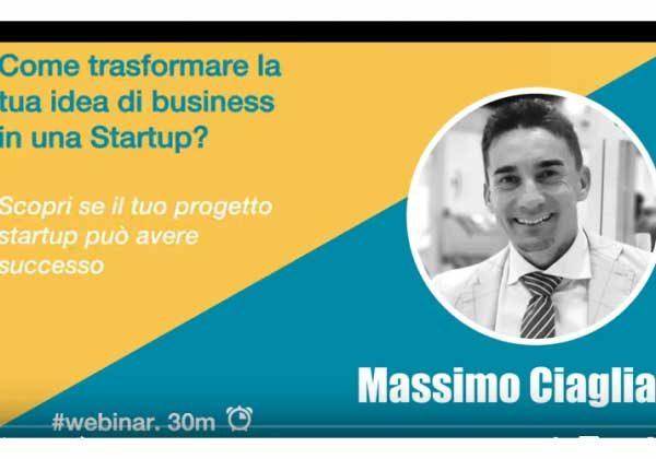 Webinar #1 Sviluppo idea di business