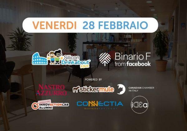 <a href='https://www.eventbrite.it/e/biglietti-34-silicon-drinkabout-rome-28-febbraio-92179548511' target='_blank' rel='noopener noreferrer'>#34 Silicon Drinkabout Rome</a>