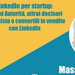 #Webinar: LinkedIn per startup