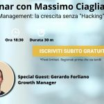 "Webinar gratuito: Growth Management, la crescita senza ""Hacking"""