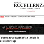 Primi in Europa: Grownnectia lancia la filiera delle start-up