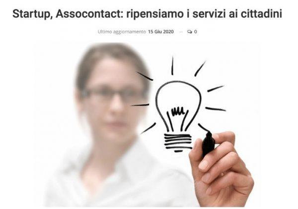 Startup, Assocontact: ripensiamo i servizi ai cittadini