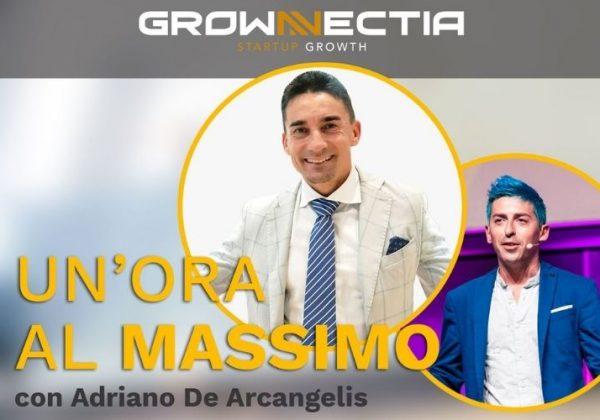 Un'ora al Massimo: Adriano De Arcangelis